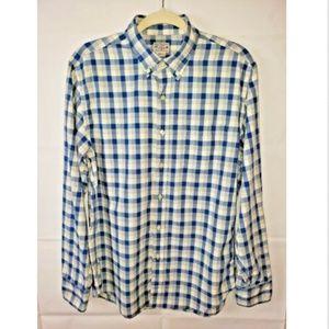 Men's J. Crew Quality Woven Button Down Shirt